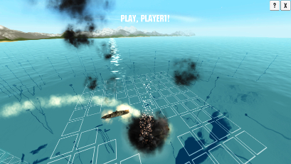 Battleships - screenshot from game